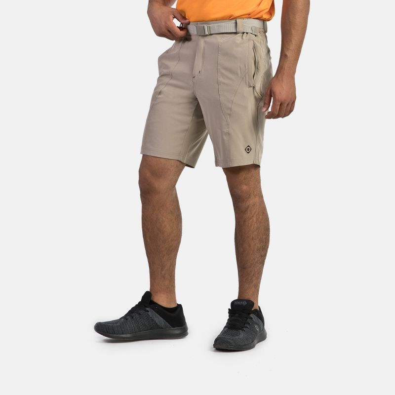 MAN SHORT PANTS TREKKING BEAR II BROWN