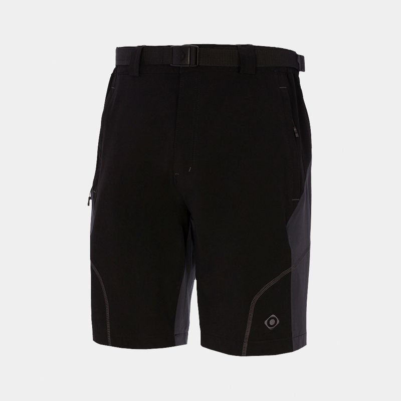 MAN SHORT PANTS TREKKING MORITZ II BLACK