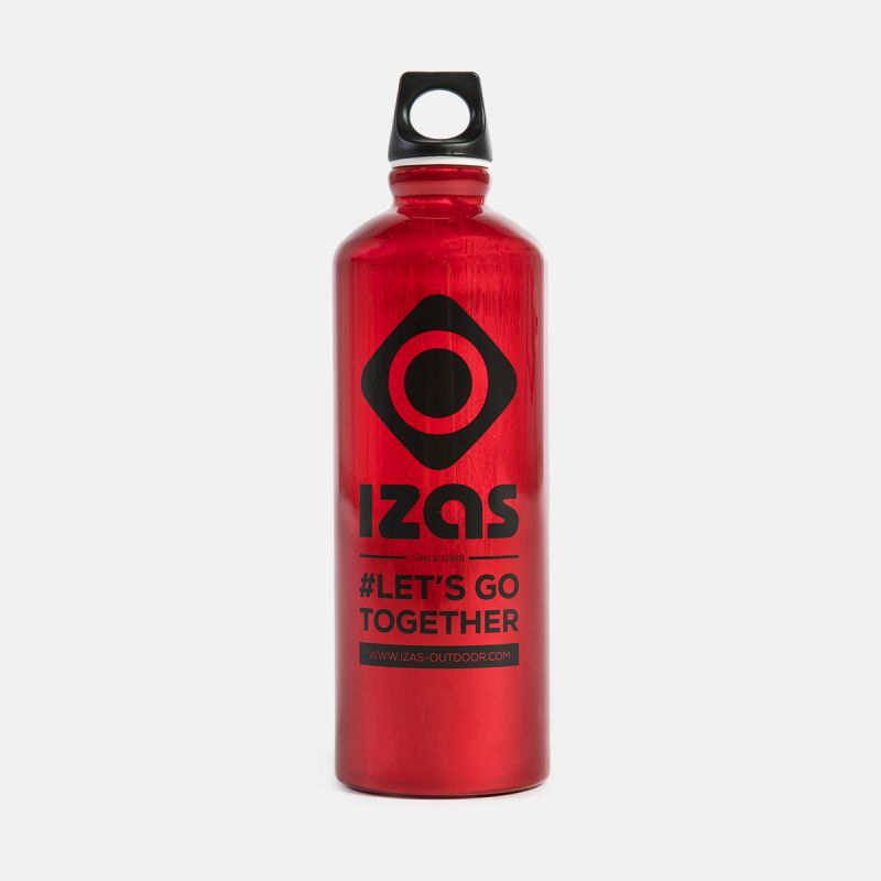 RED ALUMINIUM BOTTLE WHITBY 0.75L