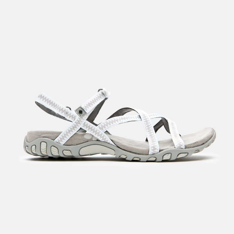 WOMAN SANDALS TENA WHITE
