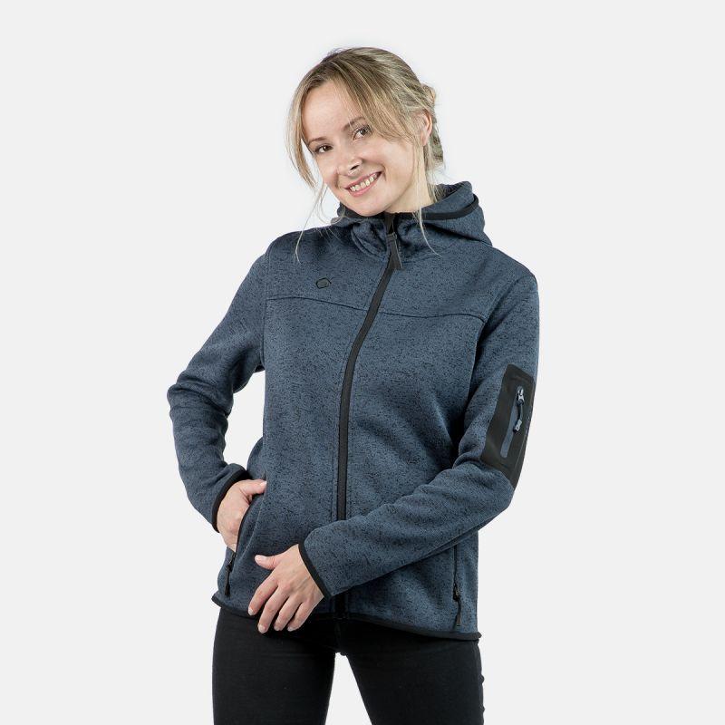 polar jacket gray woman w alder
