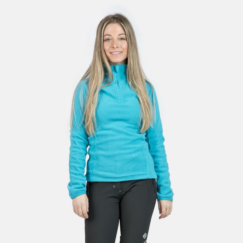 WOMAN'S FERNI POLAR FLEECE TURQUOISE