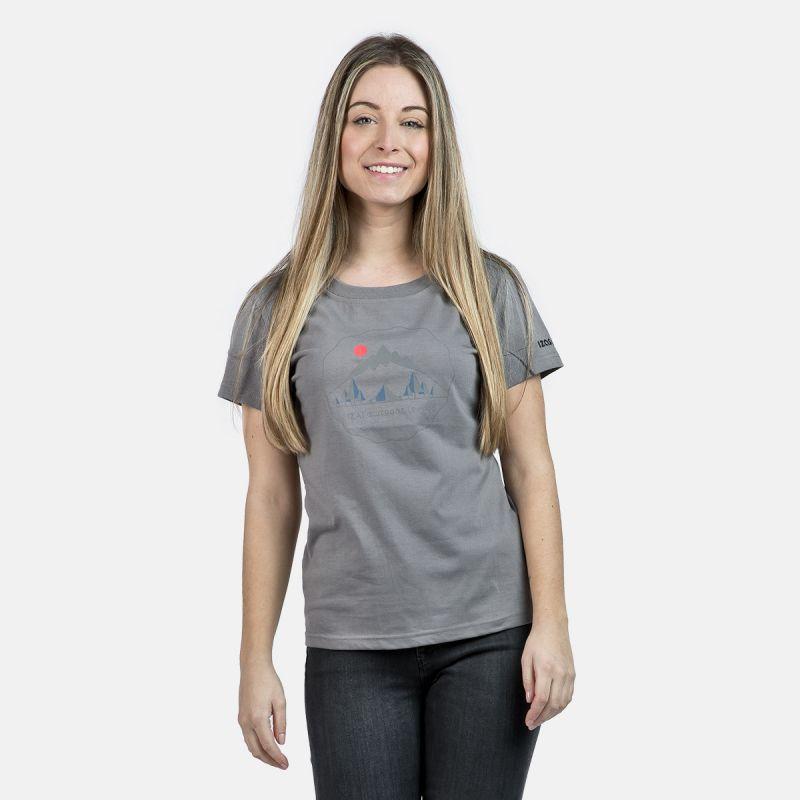 WOMAN T-SHIRT BOLONIA GREY