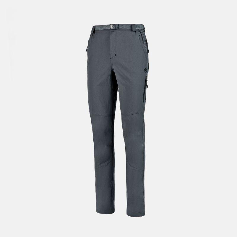 pantaloni da trekking e ii grigio nero point