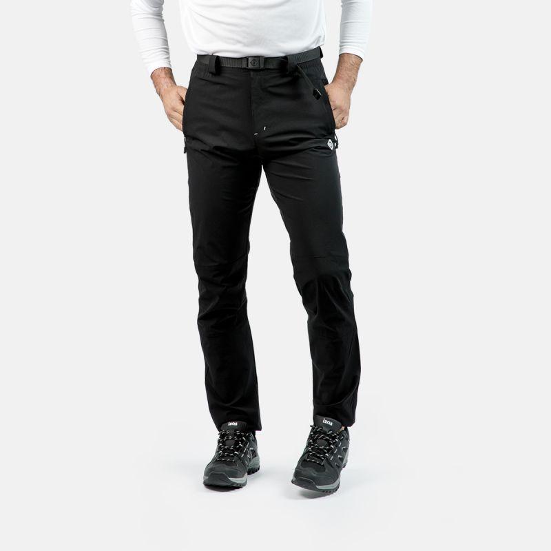 pantaloni di montagna uomo stagionale grigio chamonix