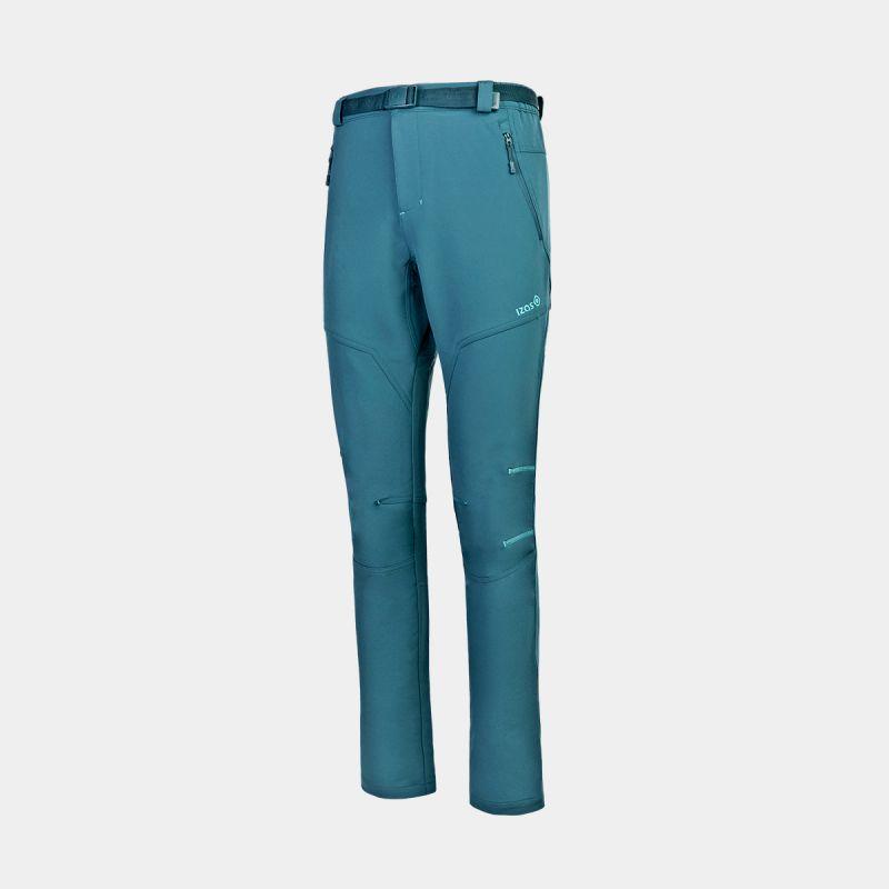 pantaloni da trekking inverno asgard blu verde verde