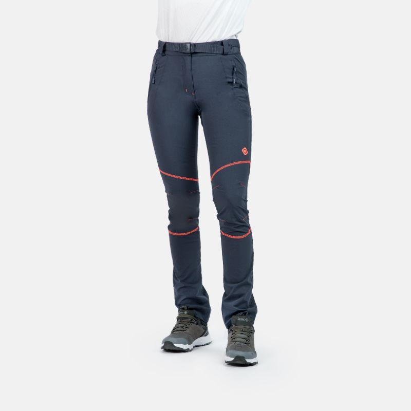 pantalon de trekking pour femmes hiver asgard w ft bleu-vert