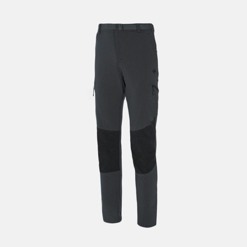pantaloni da trekking uomo / ii grigio nero espes
