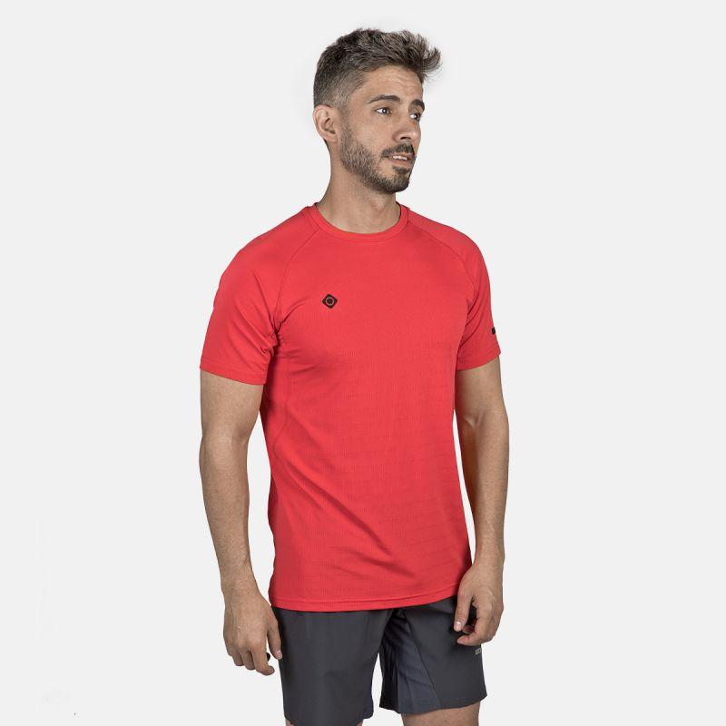 t-shirt technique à manches courtes pour hommes ategua