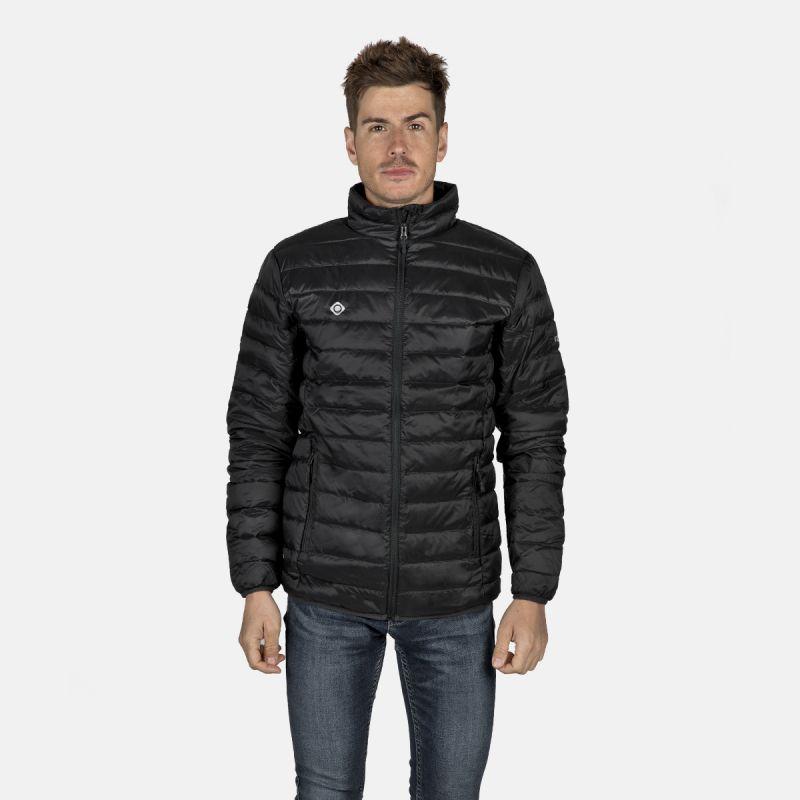 giacca in fibra leggera black man ii carving nasser