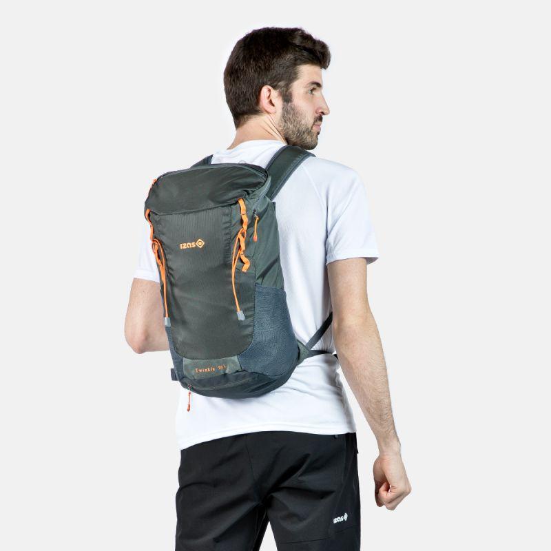 sac à dos trekking et l novax m rose gris