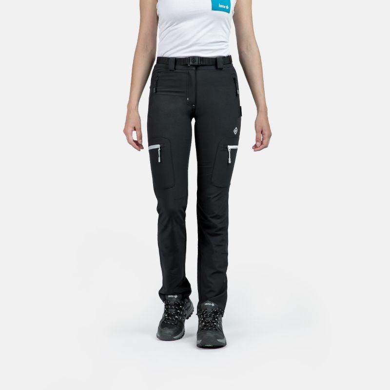 pantaloni di montagna della donna stagionale w co grigio chamonix
