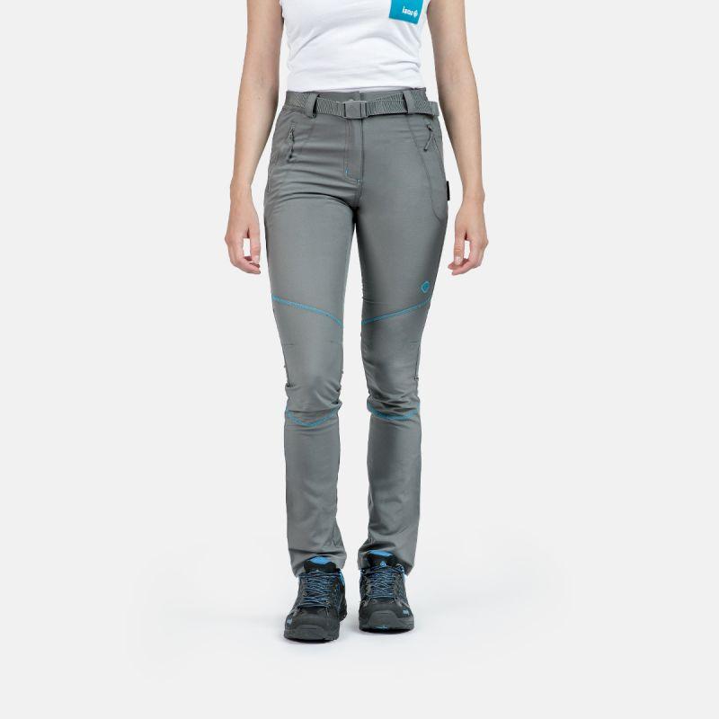 pantalon de montagne de femme saisonnière w co la gris baltic