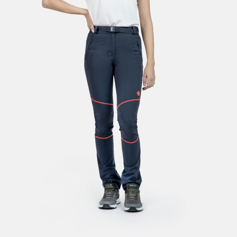 pantalon d'escalade femme w ac bleu baltic