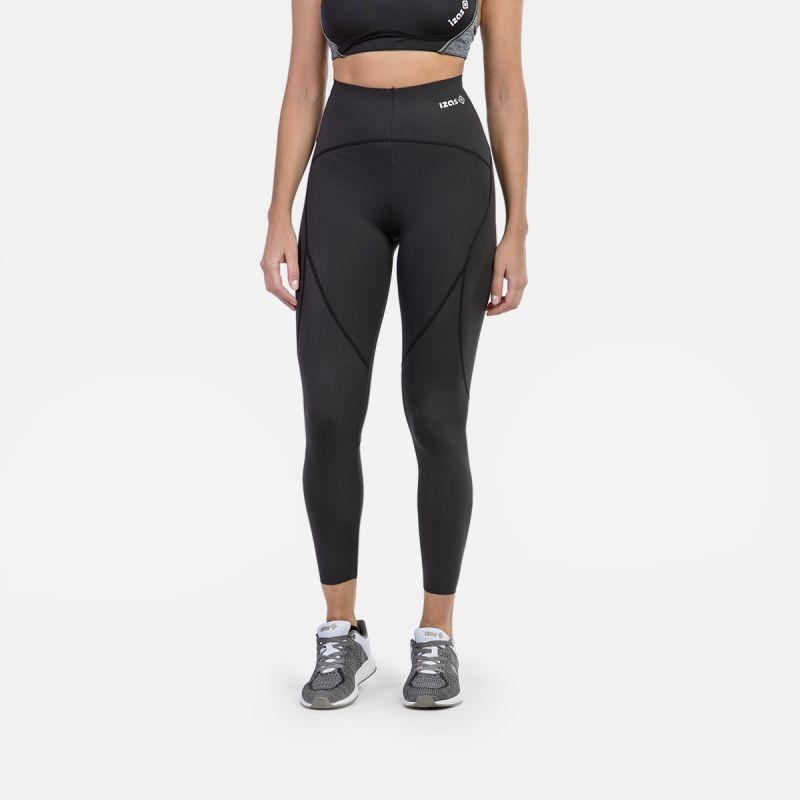 donna della maglia della compressione nera olimpia