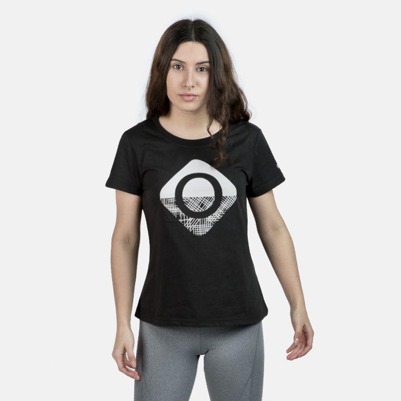 t-shirt donna nera carolina