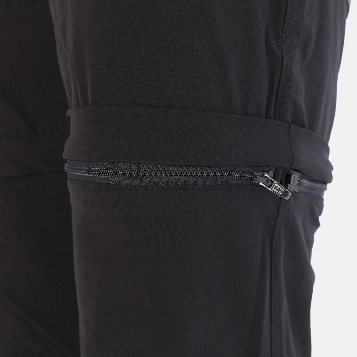 MAN'S KOBUK STRETCH PANT, DETACHABLE BLACK