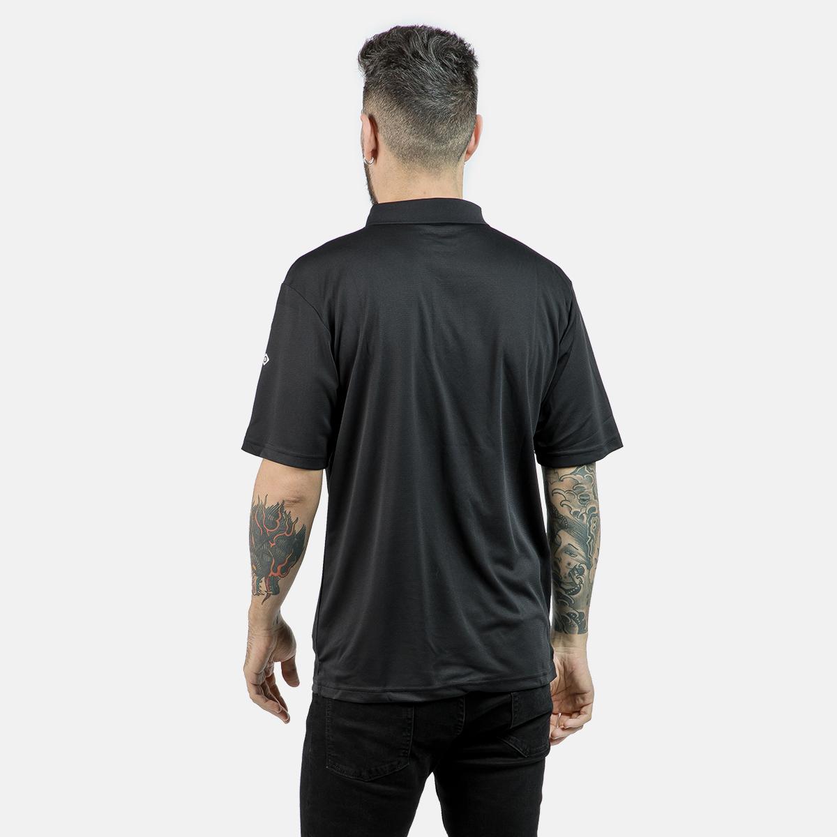 MAN'S ACAY POLO T-SHIRT BLACK