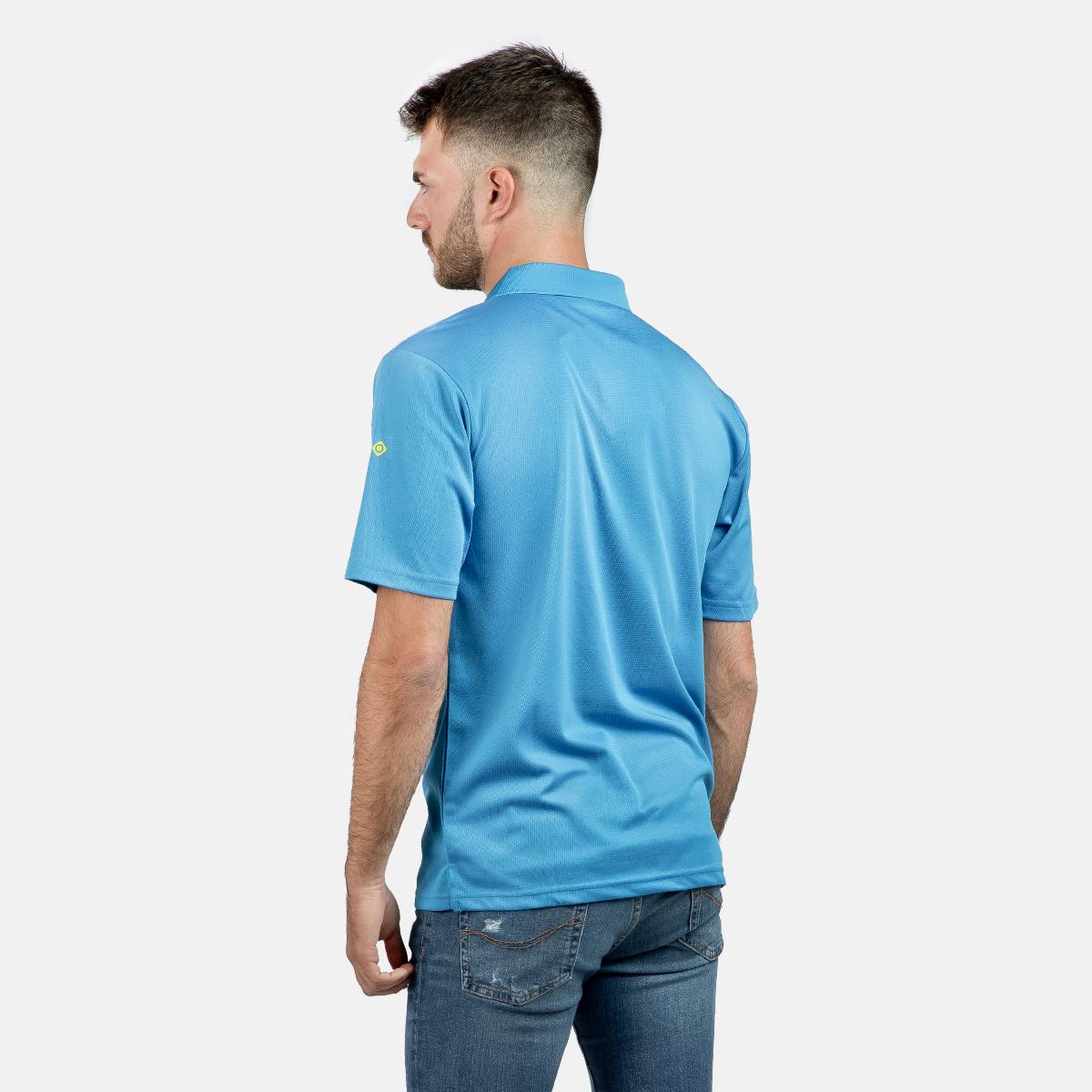 MAN'S ACAY POLO T-SHIRT BLUE