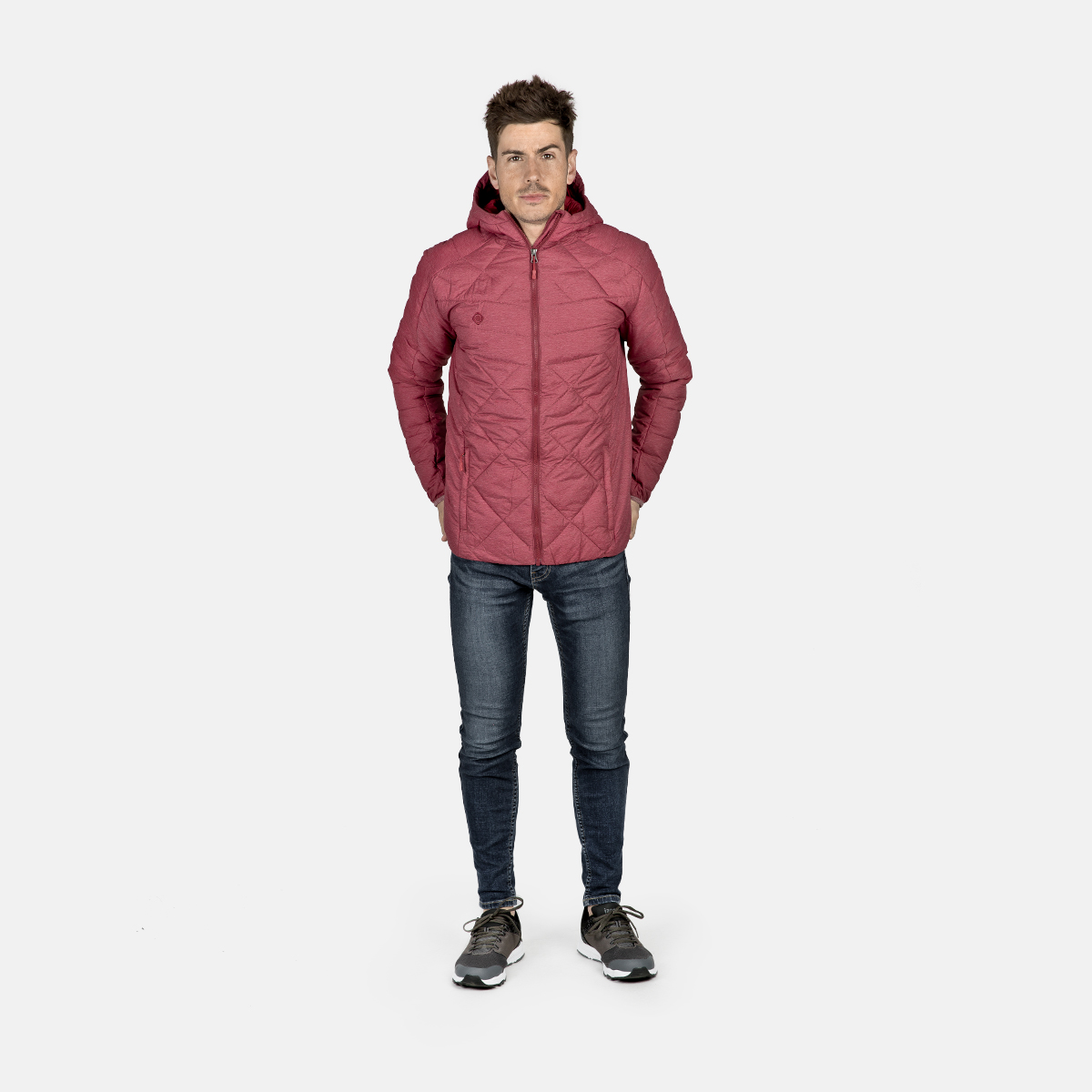 MAN'S ANDES PADDED JACKET RED