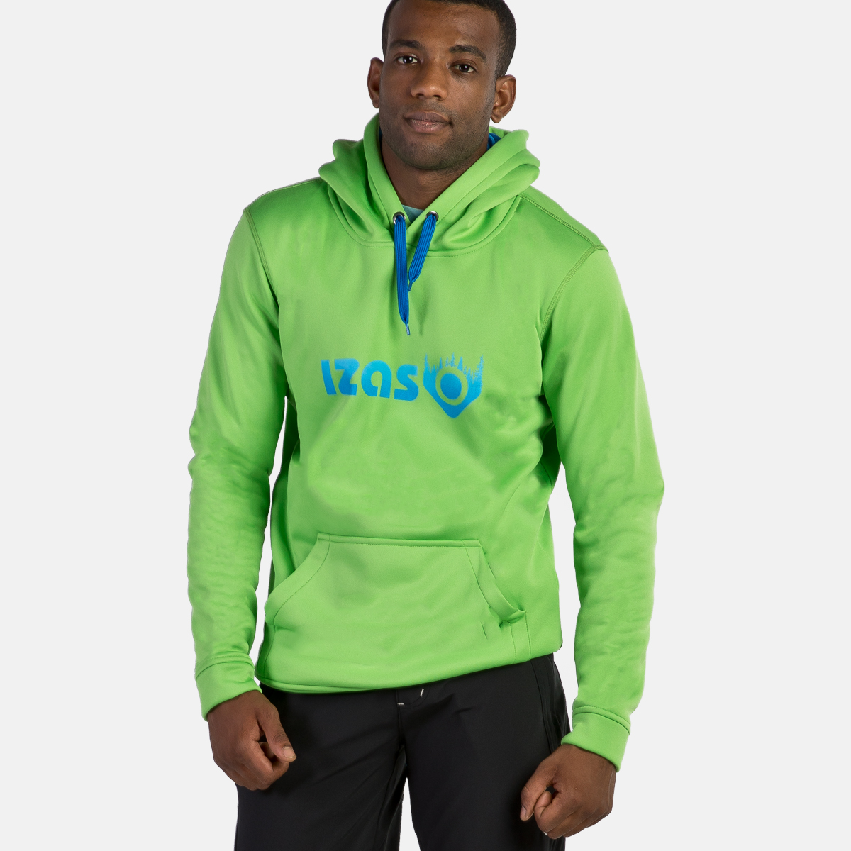MAN'S DOHA HOODED PULLOVER GREEN