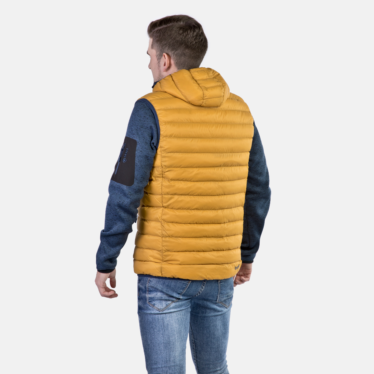 MAN'S ORTIL PADDED JACKET YELLOW