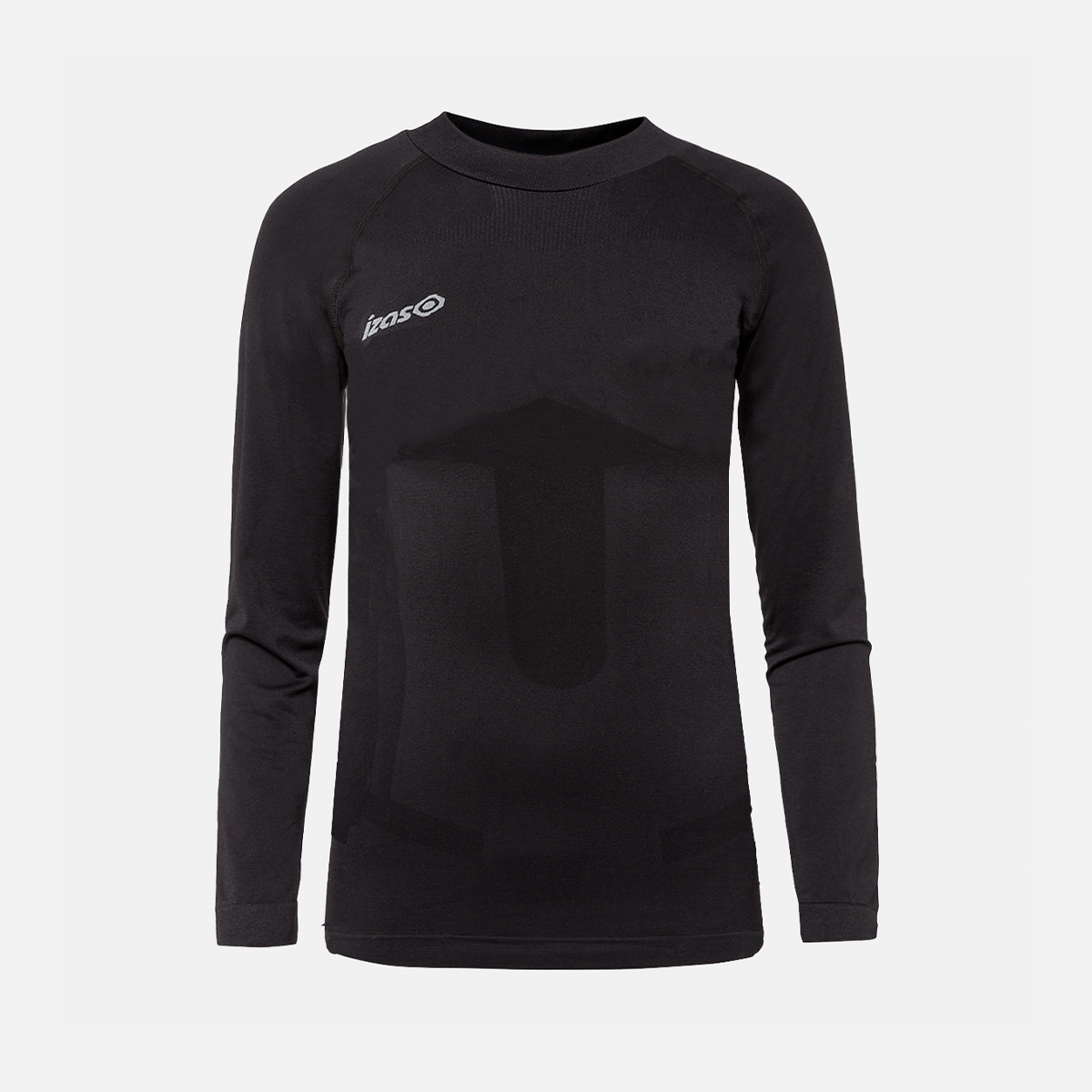 UNISEX'S SAREK THERMAL T-SHIRT BLACK