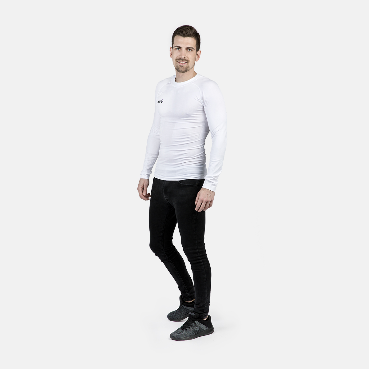 UNISEX'S SAREK THERMAL T-SHIRT WHITE