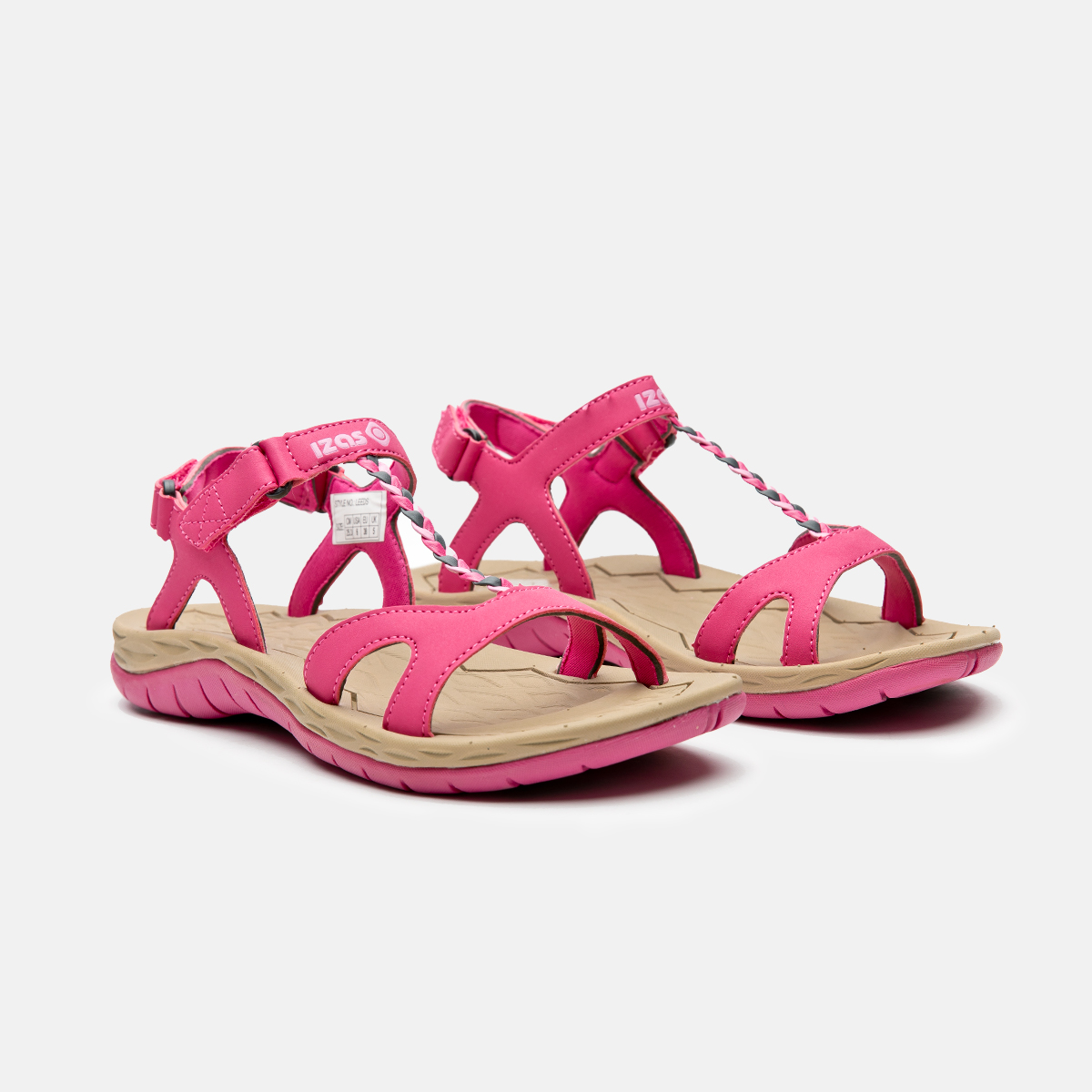 WOMAN'S LEEDS HIKING SANDALS FUXIA