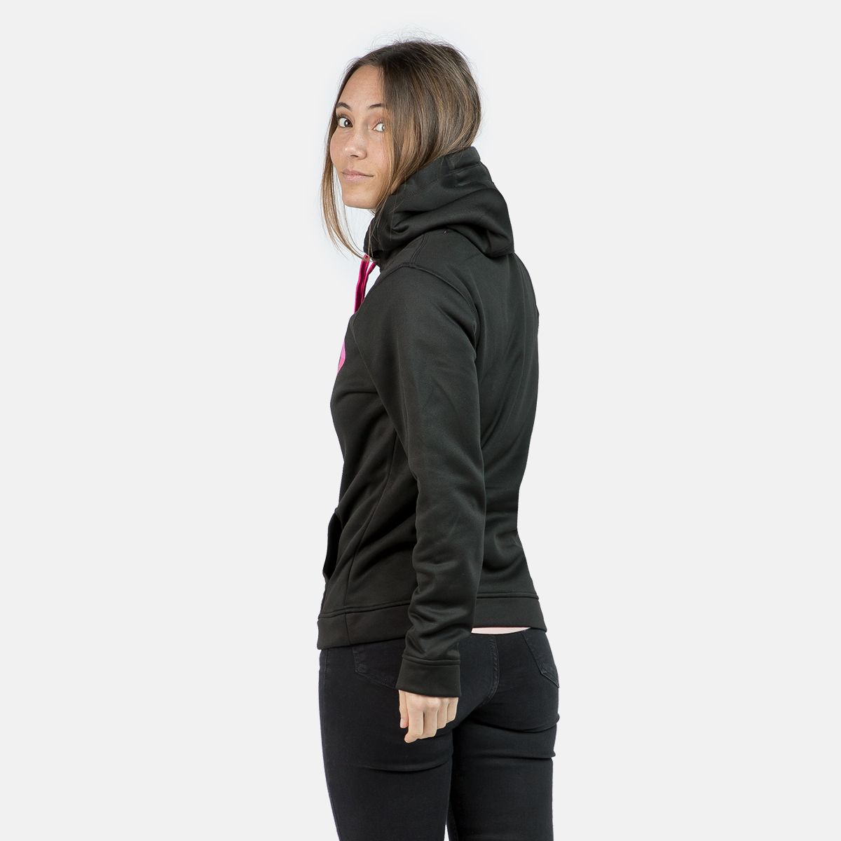 WOMAN'S CADI HOODED PULLOVER BLACK