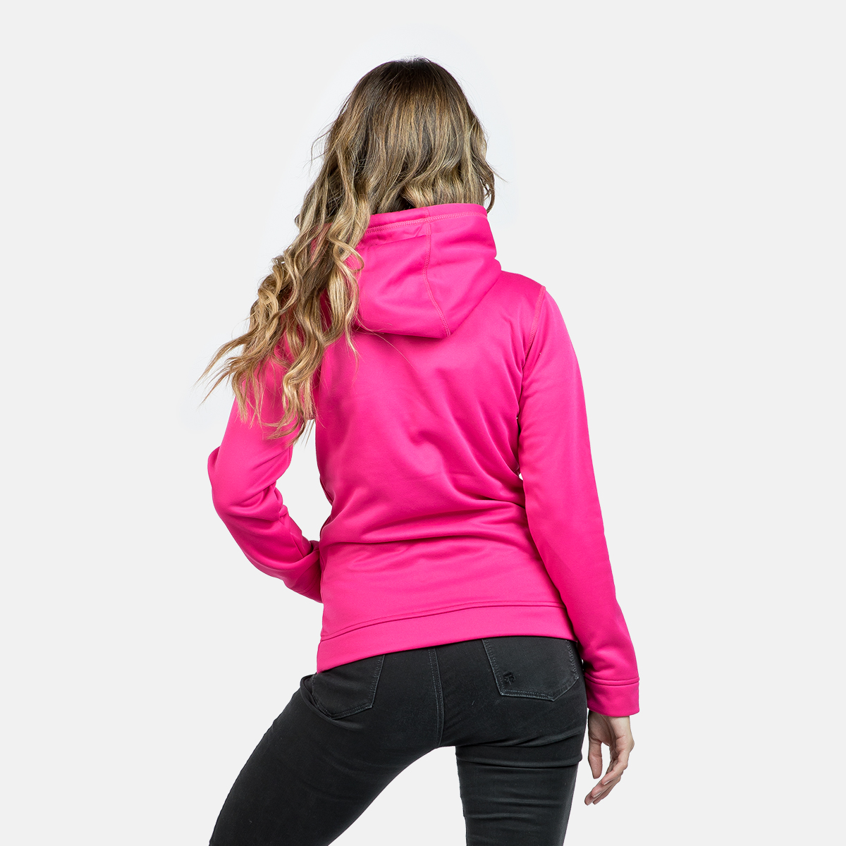 WOMAN'S CADI HOODED PULLOVER FUXIA