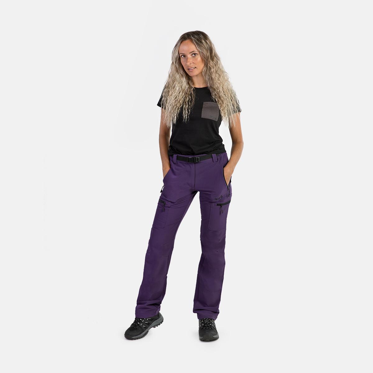 WOMAN'S WENGEN STRETCH PANT PURPLE