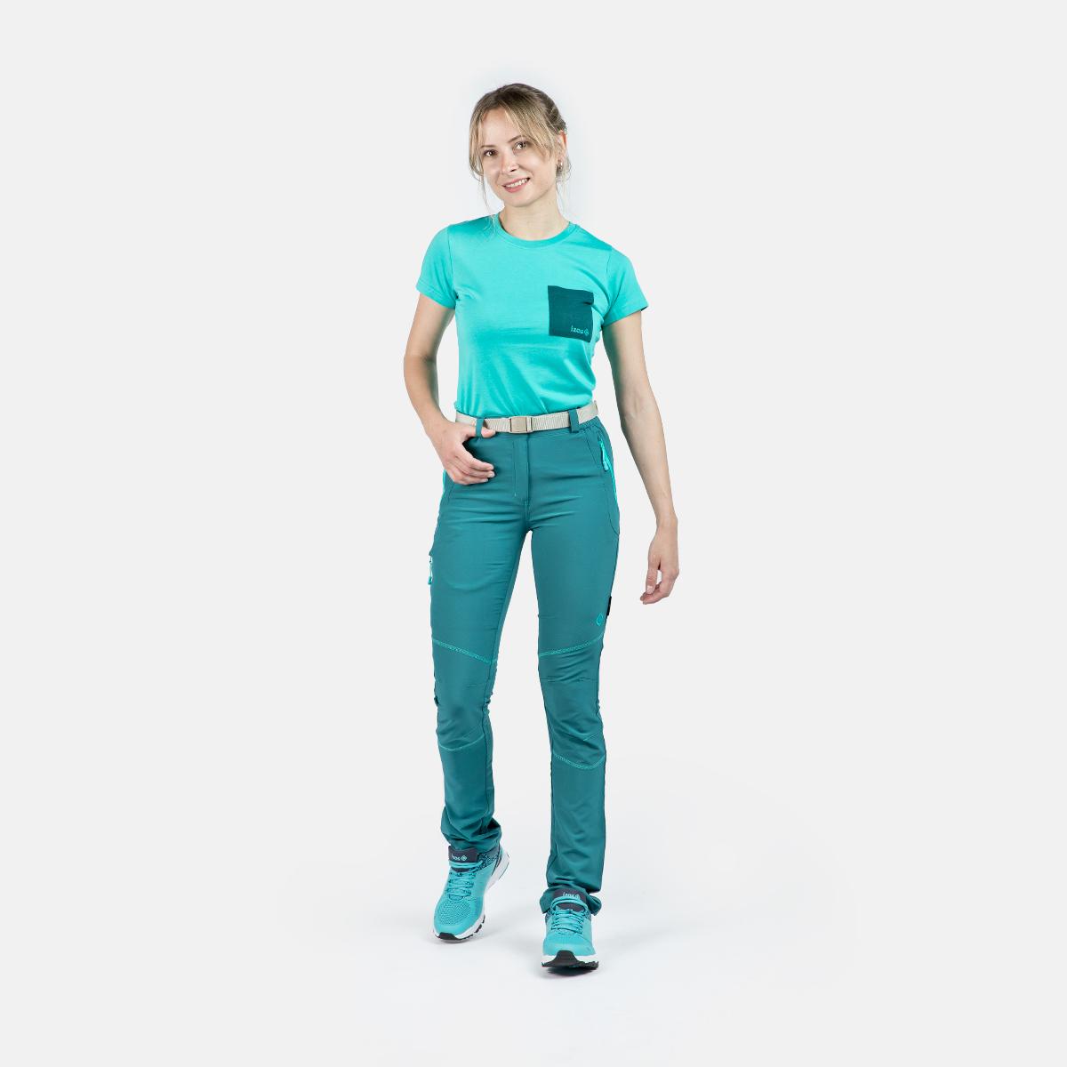 WOMAN TREKKING PANTS FORMOSA II BLUE/CERAMIC