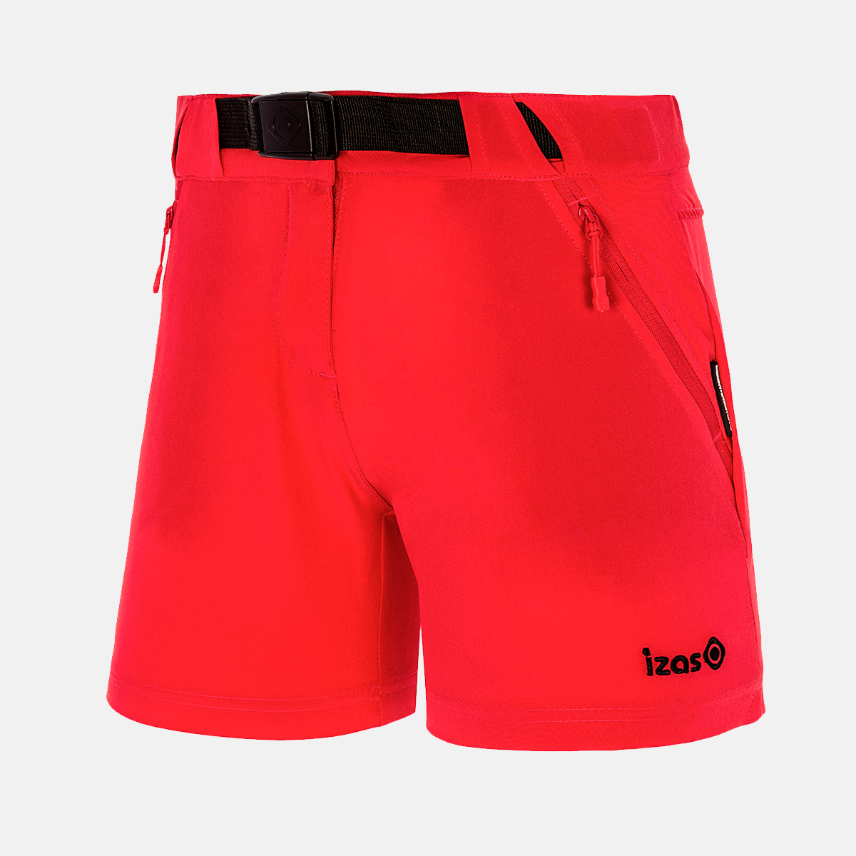 WOMAN'S NAGELA STRETCH SHORT RED