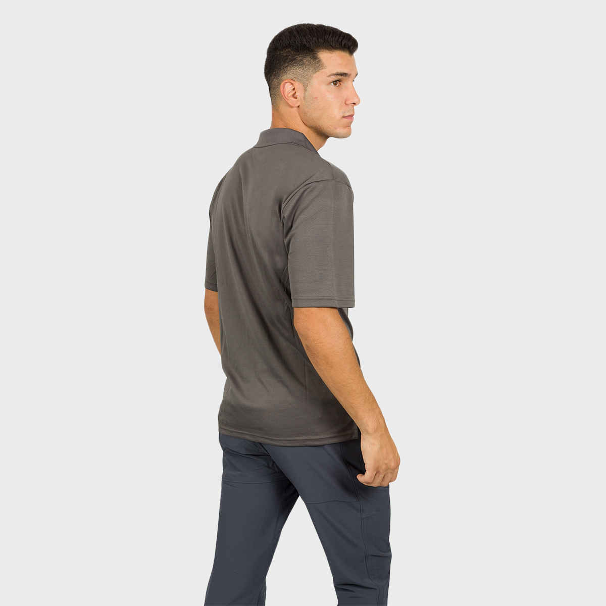MAN'S ACAY POLO T-SHIRT GREY