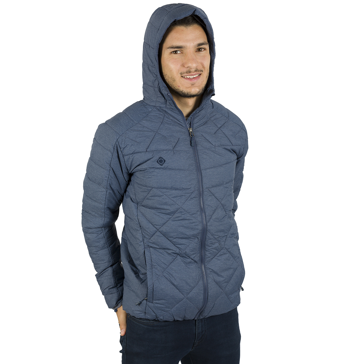 MAN'S ANDES PADDED JACKET BLUE