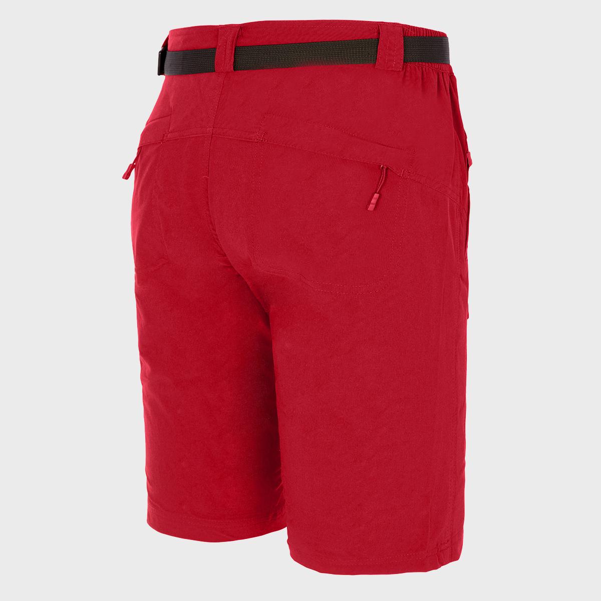MAN'S BEAR STRETCH SHORT PANT RED