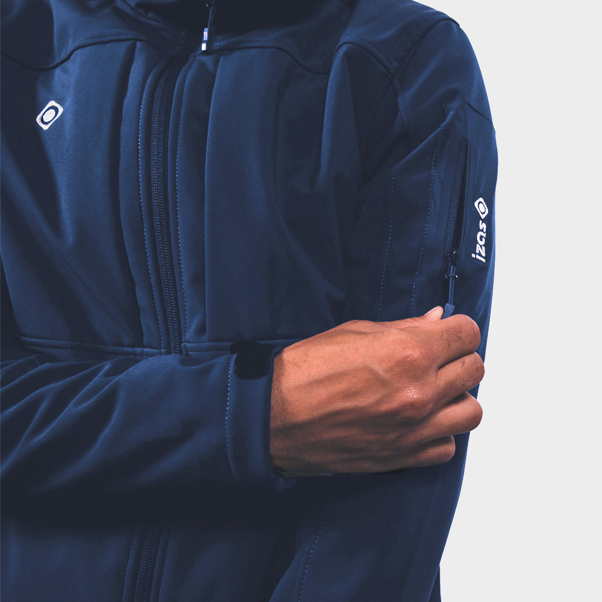 MAN'S BERRY SOFTSHELL BLUE