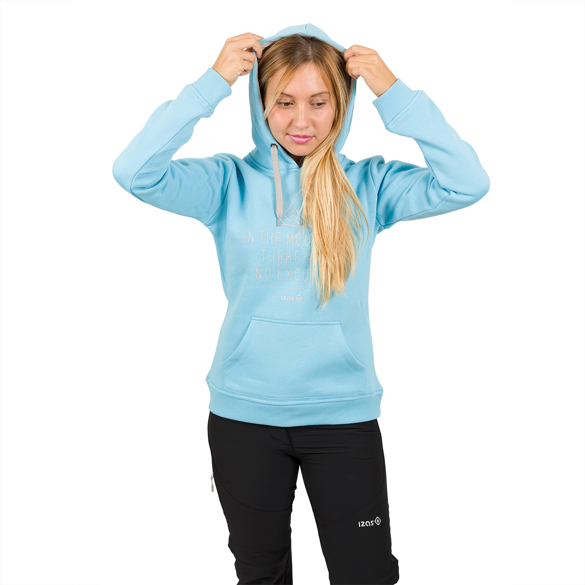 WOMAN'S CIMBIA PULLOVER BLUE