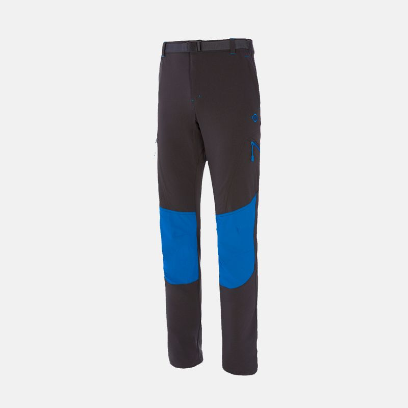 MAN TREKKING PANTS ESPES II GREY/BLUE