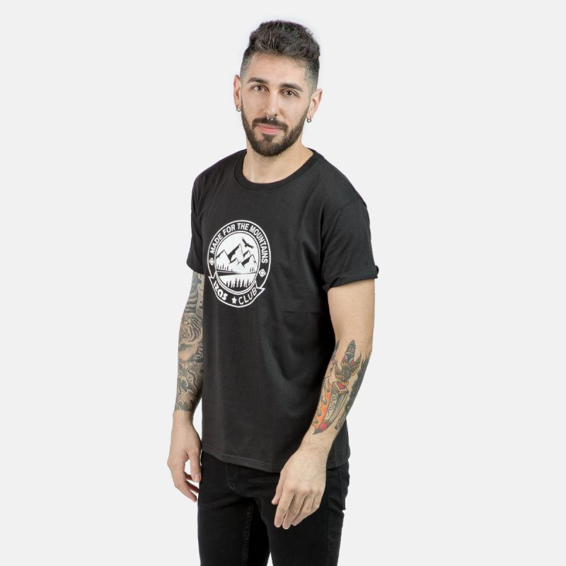 MAN T-SHIRT ZURICH BLACK