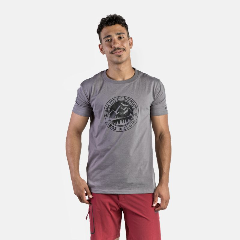 MAN T-SHIRT ZURICH GREY