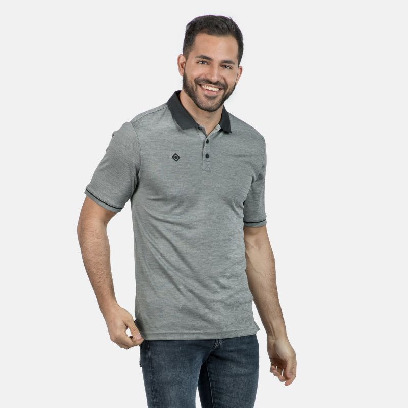 MAN POLO ZHAO GREY