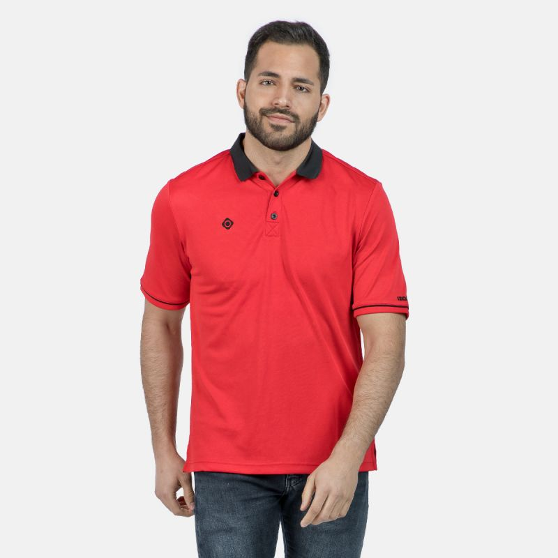 MAN POLO ZHAO RED