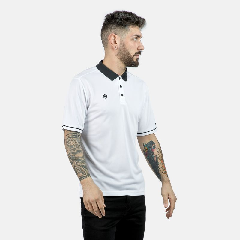 MAN POLO ZHAO WHITE