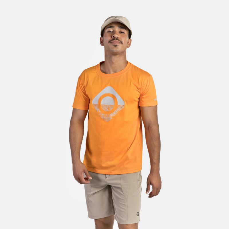 MAN T-SHIRT GRANBY ORANGE