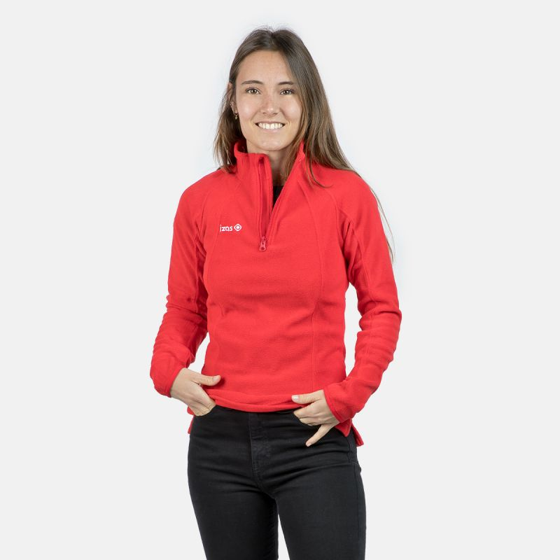 WOMAN'S FERNI POLAR FLEECE RED