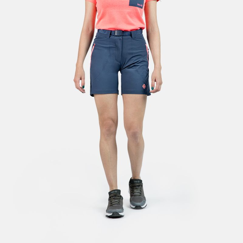 WOMAN SHORT PANTS TREKKING MESA II BLUE