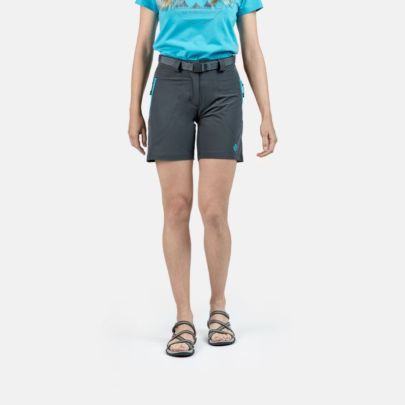 WOMAN SHORT PANTS TREKKING MESA II GREY