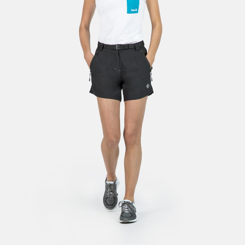WOMAN TREKKING SHORT PANTS NAGELA II BLACK